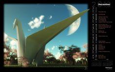 Origami Park (Rendered)