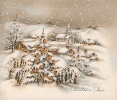 Vintage Greeting Card - Christmas | by takeabreak