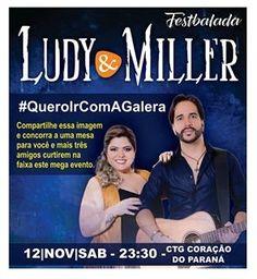 BLOG DE NOTÍCIAS DE MANOEL RIBAS E REGIÃO: Ludy & Miller fazem participação no programa de De...