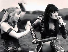 Xena Warrior Princess. These were the good days.