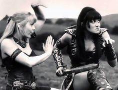 Xena Warrior Princess. These were the good days.