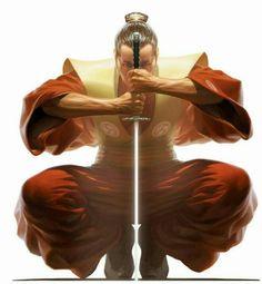 conte des arts martiaux le samourai et le maître zen.