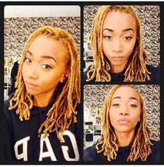 Blonde locs Dope Hairstyles, Dreadlock Hairstyles, Short Hairstyles For Women, Dreadlock Styles, Dreads Styles, Natural Dreads, Be Natural, Beautiful Dreadlocks, Platinum Blonde Hair