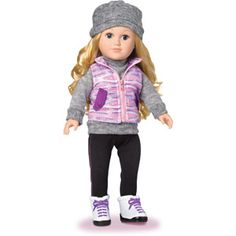 My Life As Winter Athlete Doll, Blonde