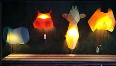 We love Lil Nika animal lamps from Hon Kong.