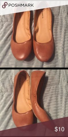 Mossimo cognac flats size 9 Mossimo cognac flats size 9. Excellent condition! I have the blush color in my closet too. Mossimo Supply Co Shoes Flats & Loafers