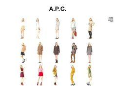 A.P.C. PRESS SITE. Video by petronio associates.