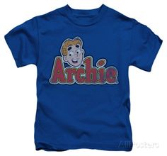 Youth: Archie Comics - Distressed Archie Logo T-shirts - AllPosters.ca
