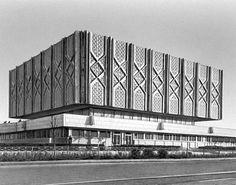 Филиал Центрального музея В. И. Ленина, Ташкент (1970) / Е. Г. Розанов, В. Н. Шестопалов, Ю. А. Болдычев - советский модернизм