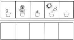 Risultati immagini per pracovní listy jaro Nursery Activities, Alphabet Activities, Preschool Worksheets, Preschool Activities, First Grade Spelling, Cambridge Primary, Sequencing Pictures, All About Me Preschool, Kindergarten Writing