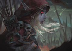 - World of Warcraft Female Character Concept, Character Art, Character Inspiration, Art Warcraft, Dark Fantasy, Fantasy Art, Banshee Queen, World Of Warcraft Characters, Fantasy Characters