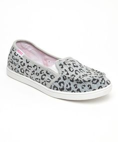 Look what I found on #zulily! Anvil Leopard Lido II Slip-On Shoe by Roxy #zulilyfinds