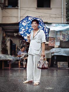 It might be a kind of fashion!  Umbrellas Parasols 312a91f79