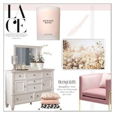 """""""Girl Time"""" by orietta-rose ❤ liked on Polyvore featuring interior, interiors, interior design, home, home decor, interior decorating, Estée Lauder, Graham & Brown, Home and homedecor"""