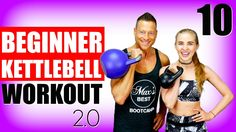 10 Minute Beginner Kettlebell Workout 2.0 | Fat Burning HIIT Kettlebell Routine for Women and Men