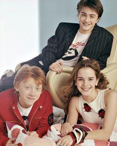 Young Dan, Rupert and Emma