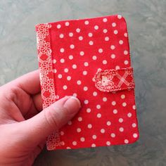 Obsessively Stitching: Love Week -- Covered Notebooks!