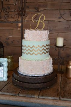 Old Glory Ranch - bridal cake #weddingcake www.oldgloryranch.com  www.facebook.com/oldgloryranch