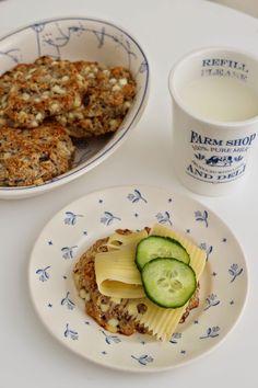 Cottage cheese scones - My Little Kitchen Cheese Scones, Farm Shop, Little Kitchen, Cottage Cheese, Lunch, Dessert, Baking, Breakfast, Food