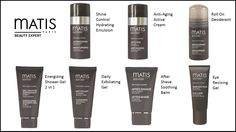 Matis Paris Mens Line. Just in time for Father's Day. See more at www.myrdm.com After Shave, Shower Gel, Deodorant, Cleanser, Shaving, Anti Aging, The Balm, Skin Care, Paris