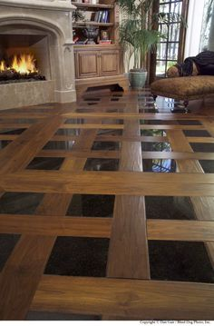Decorating. Cool Ideas Of Floor Tiles Living Room. Varnished Wood Floor Tile And Black Laminated Ceramics Floor Tile Ornament comes with Marble Fireplace Mantel Shelf and Wrought Iron Fireplace Grate