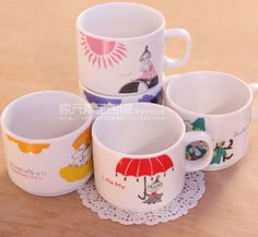 Moomin ceramic cup Moomin Mug milk cup lovers cup coffee cup Hot Cartoon Mug Free shipping-inMugs from Home & Garden on Aliexpress.com | Alibaba Group