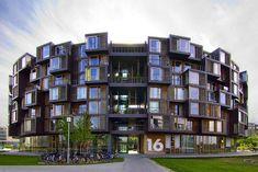 Tietgenkollegiet Student Housing -   Pretty amazing design...the future of The MARQ?