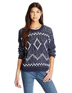 Element Juniors Coline Sweater Navy Small *** Want additional info? Click on the image.