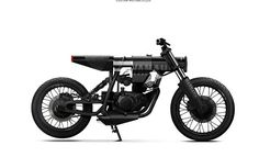 Yamaha Concept Customized by Barbara Motorcycles Motorcycle Icon, Futuristic Motorcycle, Motorcycle Types, Moto Bike, Concept Motorcycles, Custom Motorcycles, Custom Bikes, Bobber Style, Bike Style