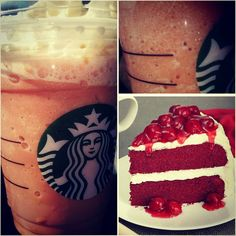 The *RED VELVET FRAPPUCCINO* is a raspberry chocolate delight that is sure to please your taste buds! Find it on the SecretStarbucks.com Menu!
