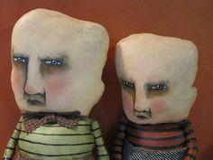 odd boy art dolls , sandy mastroni