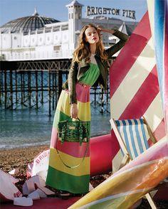 Oh I do like to be beside the sea side....