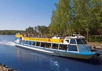 Beautiful Canal Route to the eastern archipelago of Helsinki.