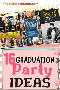Ohhhh, graduation, that one event that all high school and college students look forward to...It's the day that marks both the end and a beginning of a new journey! This big day only comes once so why not make it extra special? Check out the blog for amazing graduation party ideas! From graduation party decorations, yearbook themed surprises, graduation card designs and more, we got you covered! Guaranteed, your party's gonna pass with flying colors! C'mon, get that grad party checklist…