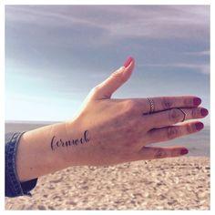 We have FERNWEH to the sea ⚓️☀️ #temporarytattoos #fernweh #wanderlust