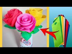 DIY: How to make rose flower with waste shopping bag 🌹 very easy hand craft tutorial 😊 Rangoli Borders, Rangoli Border Designs, Diy Flowers, Paper Flowers, Diy Wedding, Wedding Decor, Plastic Bag Crafts, Plastic Bottle Flowers, How To Make Rose