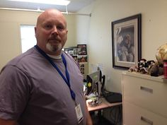 Mike Stamp is one of six Washington DSHS social workers assigned to locate foster youth who run away.