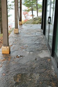 Walkways - Stone walkways and patios for your cottage or home Stone Walkways, Sidewalk, Cottage, Home, Log Projects, Courtyards, Cottages, Ad Home, Homes