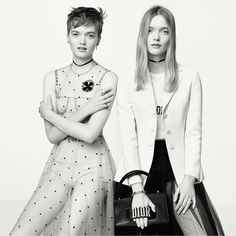 Maria Grazia Chiuri Reinvents Dior Logo for the Women of Today » New York Girl Style