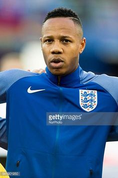 Nathaniel Clyne of England pictured before the UEFA Euro 2016 Group B match between Slovakia and England at Stade Geoffroy Guichard in SaintEtienne. Nathaniel Clyne, Uefa Euro 2016, Football Photos, England, Group, Mens Tops, Pictures, Photos, England Uk