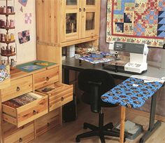 From Creating Your Perfect Quilting Space