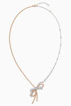 Necklaces – Page 4 – Modern Jewelry Bow Jewelry, Jewelry Knots, Chanel Jewelry, Rose Gold Jewelry, High Jewelry, Luxury Jewelry, Modern Jewelry, Pendant Jewelry, Jewelry Accessories