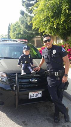 """This adorable little guy wanted to meet a police officer. His parents called Westminster Police Department today saying their son was a big fan of law enforcement and asked if their son could meet an officer. Officer Gradilla was happy to oblige and spend some time with him. ‪#‎cop4aday‬ ‪#‎kidsrock‬ "" ‪#‎LoveWhatMatters‬ Photos courtesy of Westminster Police Department"