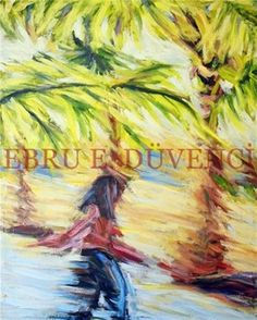 "Saatchi Online Artist Ebru E Duvenci; Painting, ""untitled, 2003, oil on canvas, 100x80cm"" #art"