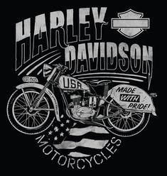 Harley-Davidson Illustrations | Abduzeedo #harleydavidsoncaferacer