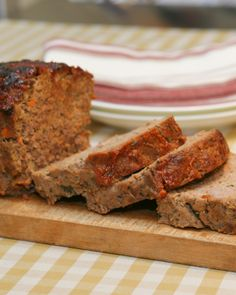 Use a combination of meat for perfect meatloaf: beef for flavor, veal for tenderness and easy slicing, pork for juiciness.