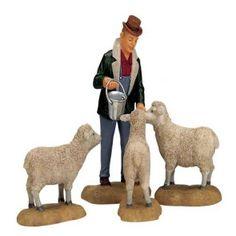 Lemax - The Good Shepherd Set Of 4