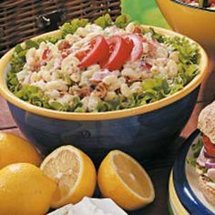 Bacon, Lettuce, Tomato Macaroni Salad