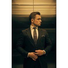 """ Taron Egerton — Before Rocketman Premiere by Charlie Gray for Vanity Fair Italia "" Taron Edgerton, Taron Egerton Kingsman, Eddie The Eagle, Interview, Raining Men, Perfect Man, Man Crush, Gorgeous Men, Beautiful People"