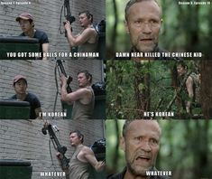 """One of the many times Daryl made you love him. 